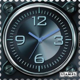 Montre Stamps cadran de montre aeronautic urban