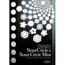 Livre Pergamano Parchment Semi Circle Semi Circle Mini waw angels