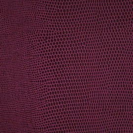 Papier Skivertex simili cuir lézard mauve