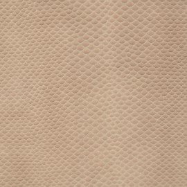 Papier simili cuir serpent snake beige