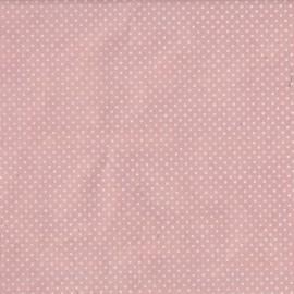 Papier népalais lokta rose à pois blanc