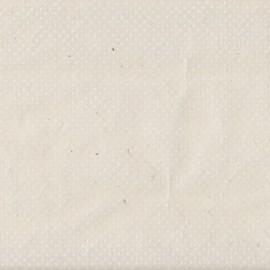 Papier népalais lokta naturel à pois blanc