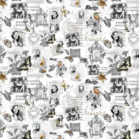 Papier motifs memories