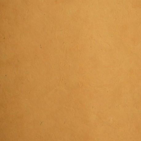 Papier népalais lokta orange abricot