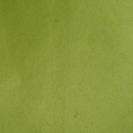 Papier népalais lokta vert