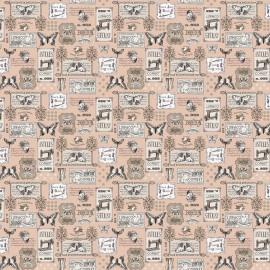 Papier motifs lingerie