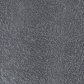 Papier simili cuir lézard métallique gris anthracite