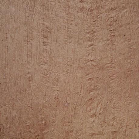 Papier fantaisie froissé marron rose