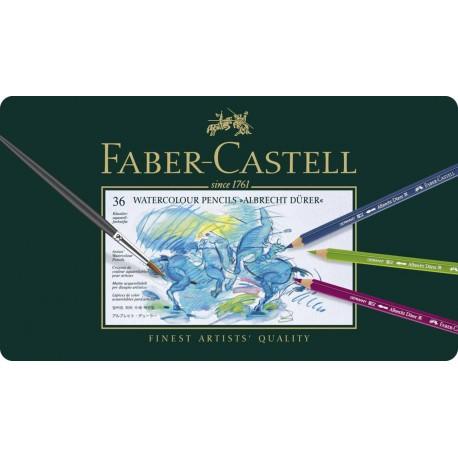 Crayons Faber Castell aquarellables Albrecht Dürer boite métal 36 crayons