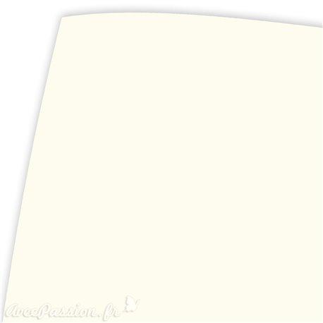 Papier fantaisie vélin crème