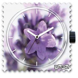 Montre Stamps cadran de montre bling bling bling
