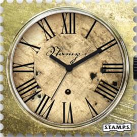 Montre Stamps cadran de montre time lord