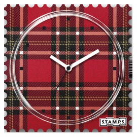 Montre Stamps cadran de montre scotland the brave urban