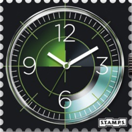 Montre Stamps cadran de montre radar urban