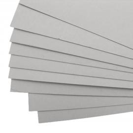 Cartonnage carton gris 2mm 50x70cm