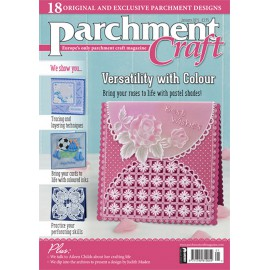 Parchment Craft magazine Pergamano janvier 2015 - Versatility with color