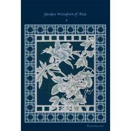 Modèles Julie Roces patron Pergamano Garden Windows of Asia pattern 4