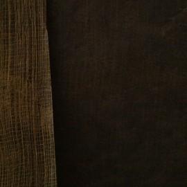 Papier fantaisie cotton marron 50x75