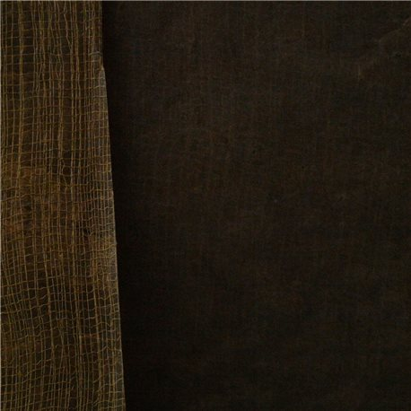 Papier fantaisie cotton marron 50x75