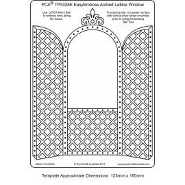 Template gabarit parchemin porte avec arche