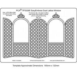 Template gabarit parchemin double porte avec arche