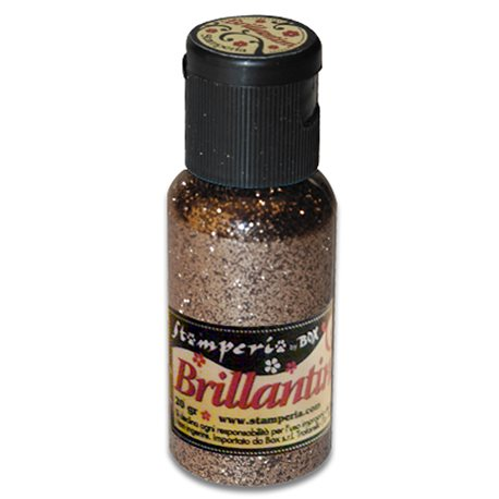 Paillettes ultra fines cuivre brillant 20g