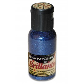 Paillettes ultra fines bleu brillant 20g