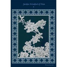 Modèles Julie Roces patron Pergamano Garden Windows of Asia pattern 6