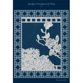 Modèles Julie Roces patron Pergamano Garden Windows of Asia pattern 7