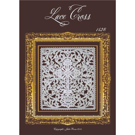 Modèles Julie Roces patron Pergamano Lace Cross pattern 1428