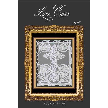 Modèles Julie Roces patron Pergamano Lace Cross pattern 1427