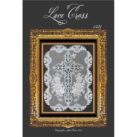 Modèles Julie Roces patron Pergamano Lace Cross pattern 1421
