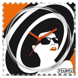 Montre Stamps cadran de montre bella