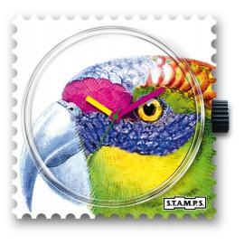 Montre Stamps cadran de montre emilio