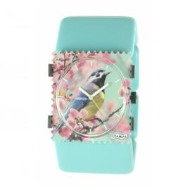 Montre Stamps bracelet de montre bleu ciel
