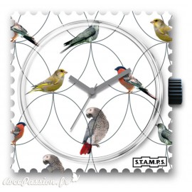 Montre Stamps cadran de montre spring birds