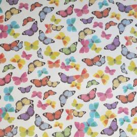 Papier tassotti motifs papillons colorés 50x70cm