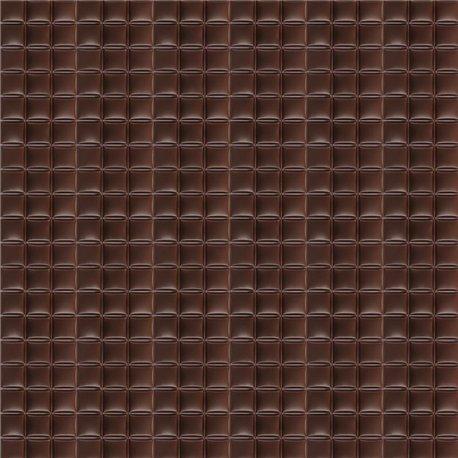 Feuilles décopatch carré de chocolat