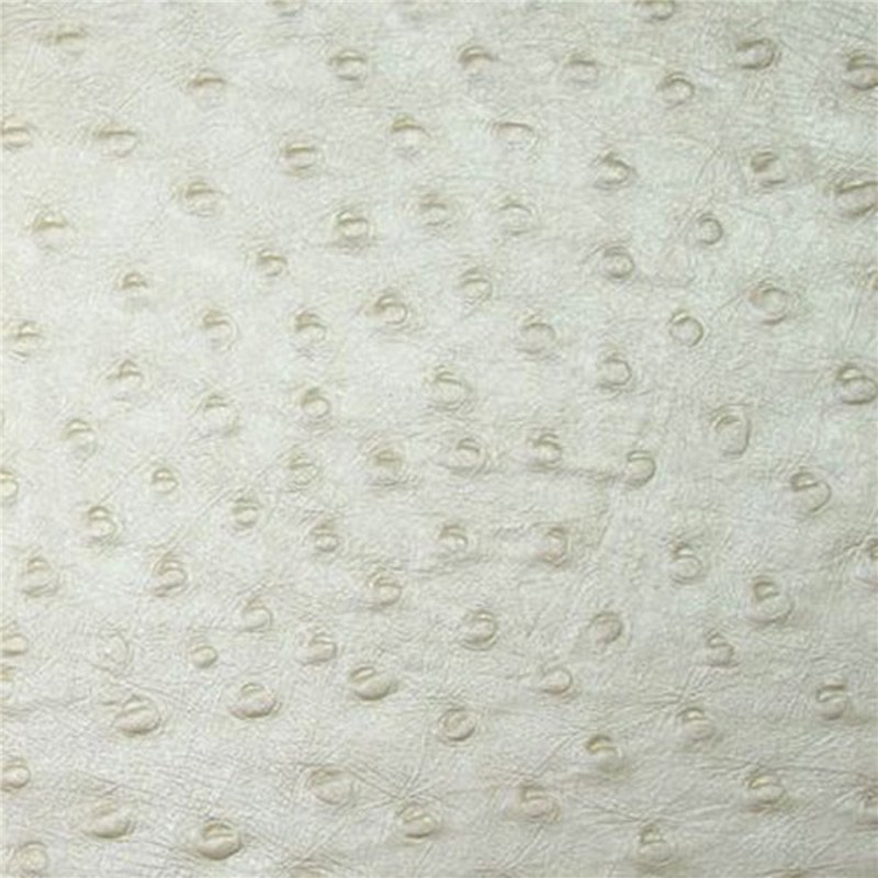 Papier encadrement motif autruche blanc cr me coton emboss 56x76 - Poids d une autruche ...