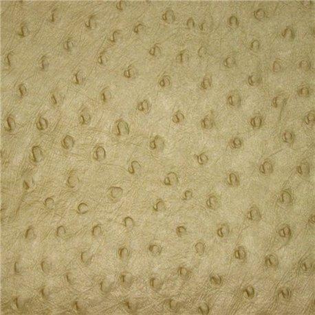 Papier fantaisie motif autruche or antique coton embossé 56x76