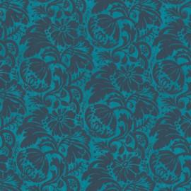 Papier népalais lokta grenade bleu turquoise