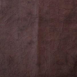 Papier fantaisie cristal marron cuir