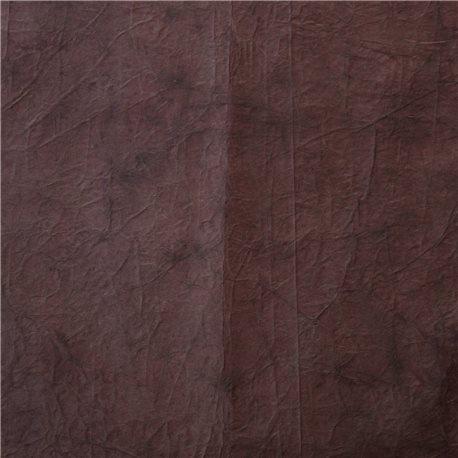 Papier encadrement fantaisie cristal marron cuir achat vente for Papier peint cuir marron