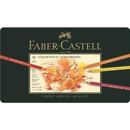 Boite de 36 crayons Faber Castell polychromos