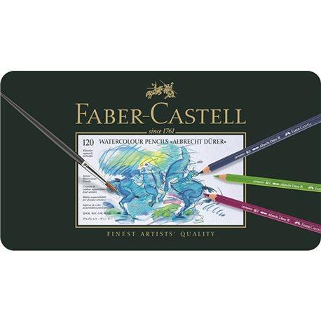 Boite de 120 crayons Faber Castell aquarellables