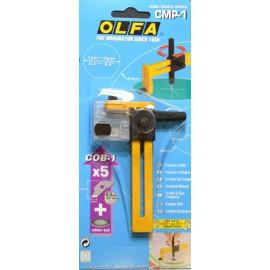 Compas cutter rotatif olfa cmp-1