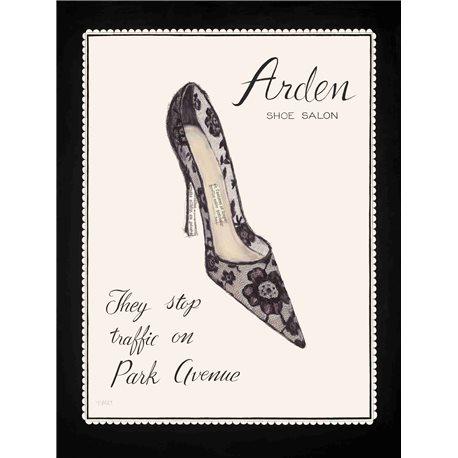 Carte d'art chaussures de femme Arden