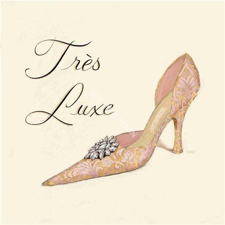 Carte d'art chaussure très luxe