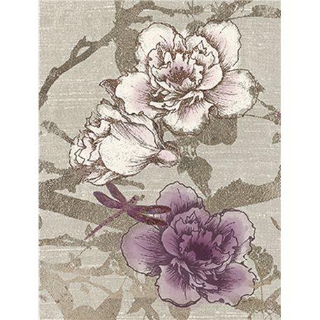 Carte d'art rosier grimpant