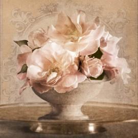 Carte d'art coupe de fleurs